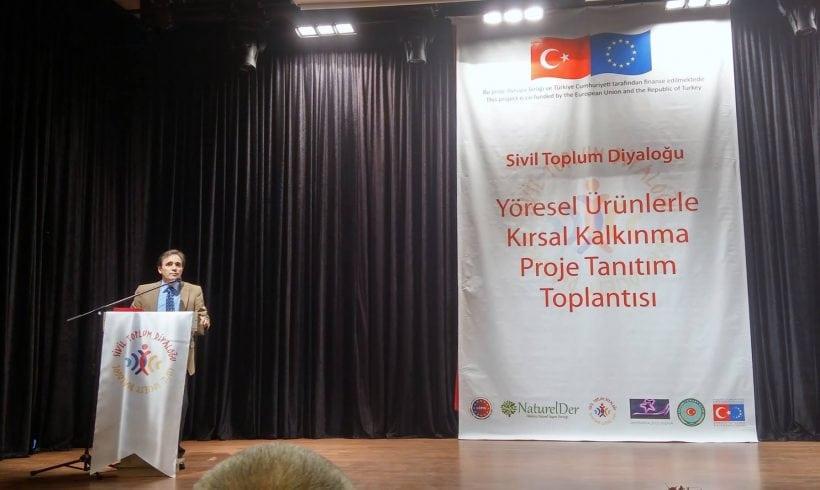 Rural Development With Local Products Tanıtım Toplantısı Yapıldı