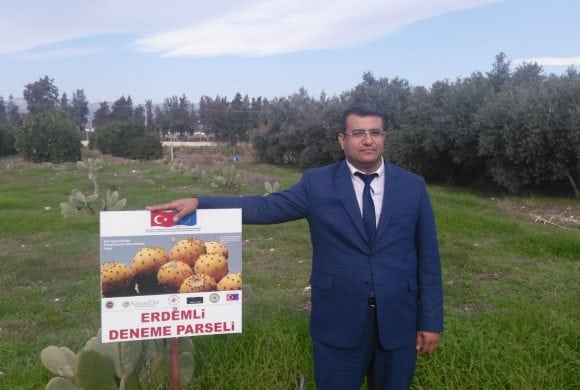 Visit to our Experimental Parcel from Akdeniz Province Agricultural Director!