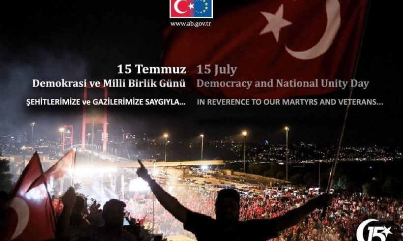 July 15, Democracy and National Unity Day