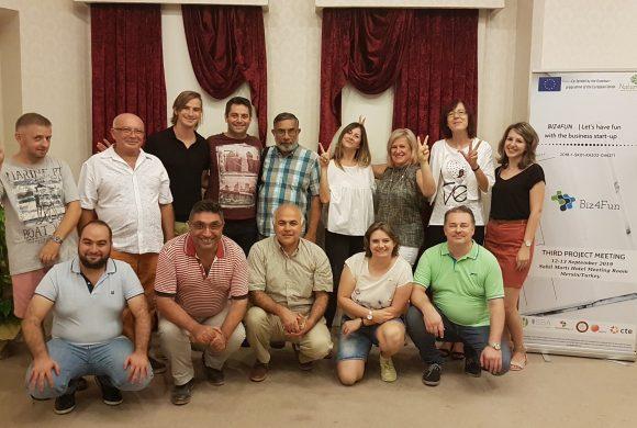 Biz4Fun Projesi 3. Proje Toplantısı Mersinde Yapıldı!