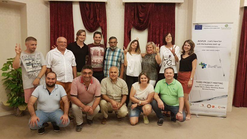 Biz4Fun 3rd Project Meeting Held in Mersin!