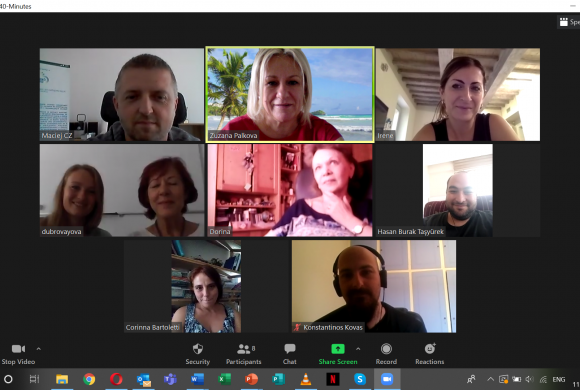 Biz4Fun Project 4th Meeting Held Online!