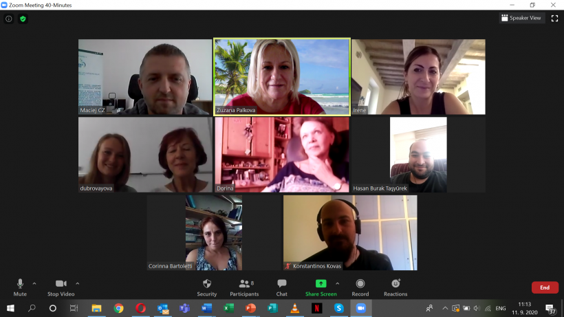 Biz4Fun Project 4th Meeting Held Online!